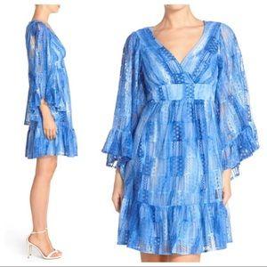 Betsey Johnson Bell Sleeve Boho Dress